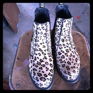 Tiger Queen (or King) Dr Martens leopard boots